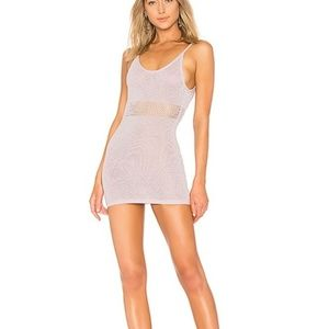 Lovers + Friends Shine Bright Dress in Lilac